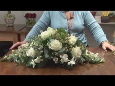 This educational resource is a invaluable time-saver that will enable you to get good at flower arranging. Watch our tutorial on How To Do A Funeral Flower Arrangement from one of Videojug's professionals.
