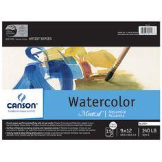 "Montval Watercolour Block 9"" x 12"" -"