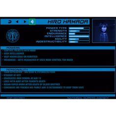 Super Hero Profile: Hiro