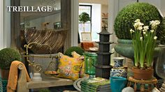 Her store, books and website are filled with wonderful and unique home furnishings.