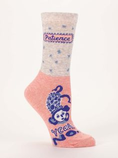 Patience: Yeah, no | We think every mom needs a pair of these socks!