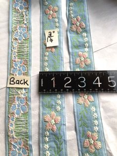 Vintage Floral Trim. Made in France. Sold by 5 Yards Cut. by AnafrezNotions on Etsy