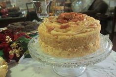 Naked Cake de Damasco com Chocolate Branco - Vai Ter Bolo - Artesanal