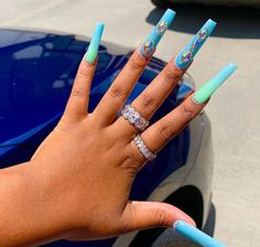 Aycrlic Nails, Bling Nails, Swag Nails, Glow Nails, Exotic Nails, Fire Nails, Best Acrylic Nails, Pastel Nails, Gorgeous Nails
