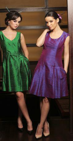 Wear some colours! YOKKO | ss16  #silk #taffeta #dresses #party #outfit #weddings #fashion #yokko