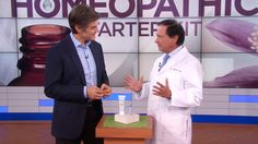 Dr. Oz - PART 3 Looking for an all-natural solution for your aches, pains and common colds? Dr. Oz reveals how you can replace your over-the-counter medications with homeopathic solutions. Plus, medical doctors reveal their favorite homeopathic remedies!