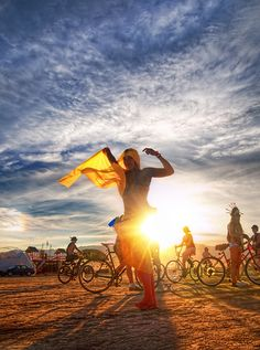 Almost Burning Man Time: Dancing in the Sun. #burningman #desertstyle #dance