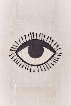 Shop Tasseled Eye Rug at Urban Outfitters today. We carry all the latest styles, colors and brands for you to choose from right here. Textiles, All Seeing Eye, Magic Carpet, Eye Art, Evil Eye, Urban Outfitters, Art Inspo, Cotton Canvas, Illustration