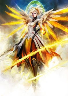 Want to discover art related to overwatch? Check out inspiring examples of overwatch artwork on DeviantArt, and get inspired by our community of talented artists. Overwatch Mercy, Overwatch Fan Art, Overwatch Angel, Fanart Overwatch, Overwatch Drawings, Overwatch Reaper, Overwatch Genji, Game Character, Character Design