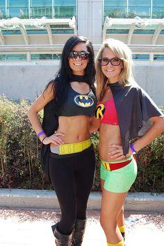 Batgirl & hipster Robin~Girl
