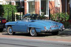 1961 Mercedes Benz #190SL. Pic credit © Wouter Duijndam / #BruceAdams190SL #190SLRestorations