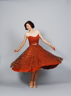 50s Party Dress  1950s Dress  All About Eve by concettascloset, $298.00