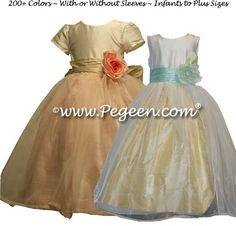 Çiçek Kız Elbise Stil 359