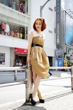小林 布結里, PR/Manager for Sister brand, in Shibuya, Tokyo via STREET SNAP