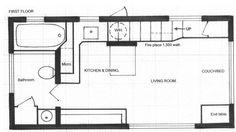 Creerás que puedes tener problemas de espacio viviendo en una casa de 18m2 hasta que veas esta