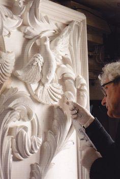 Geoffrey Preston working http://www.elizabethmachinpr.com/geoffrey-preston-plasterworks.html