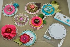 flower tutorials - scrapbooking cardmaking