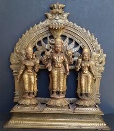 Vishnu and consorts
