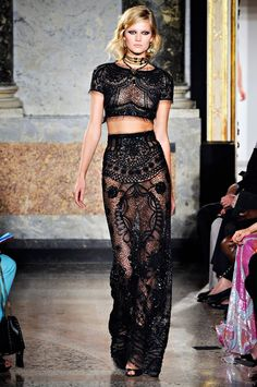 lace and lace from thetopcollection.blogspot.com #lace #topcollection