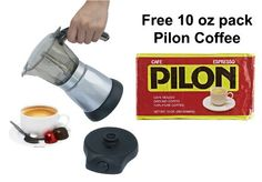awesome BC Classics BC-90264 6-Cup Electric Coffee Maker with Free Pilon Coffee 10 Oz. Pack