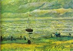 Shores of Scheveningen - Vincent van Gogh