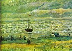 Shores of Scheveningen - Vincent van Gogh