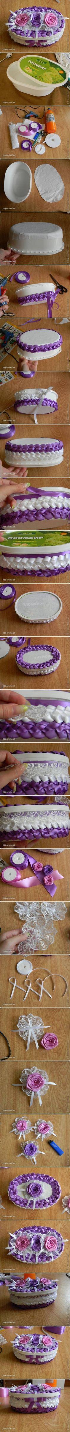 DIY Box of Ribbon DIY Box of Ribbon by diyforever