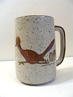 Roadrunner Otagiri mug from Japan by ScribbleFitz on Etsy, $15.00