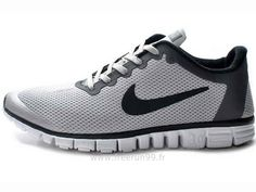 Nike Free 3.0 V3 Chaussures Homme Gris Noir Chaussures Nike Free 3.0