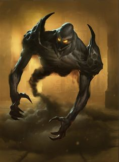 A demon that guards Collin. Known as the Dark Keeper. This demon obeys and listens to Collin. It was given to him by the titan twins when he was a baby.