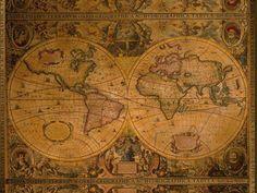 old school world map - Recherche Google