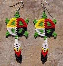 Image result for kiowa tribe brick stitch