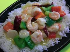 Jump Asian Express Szechuan Lemon Shrimp - Low Sodium and Gluten-Free