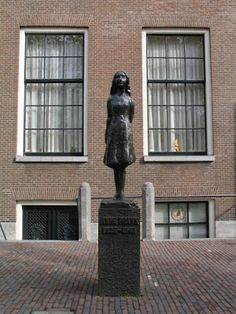 Anne Frank House, Amsterdam, The Netherlands Anne Frank Haus, Frank Martin, Oh The Places You'll Go, Places Ive Been, All Over The World, Around The Worlds, Carcassonne, Amsterdam Travel, World Of Books