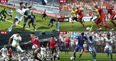 FIFA 14 vs Pes 2014 graphic, Gampelay and new features comparisons, what you can expect from EA Sports FIFA vs Konami Pro Evolution soccer 2014 which are due to release in the later part of this year