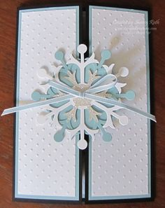 Sherry's Stamped Treasures: Winter Wedding Invitations