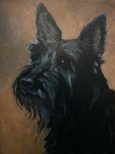 Scottie portrait