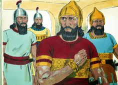 Free Bible images: Naaman, the army general of the king of Aram, is advised by a young Jewish girl to go to the prophet Elisha for healing of his leprosy. Bible Story Crafts, Bible Crafts For Kids, Bible Stories, Preschool Bible, Bible Activities, Free Bible Images, Bible Pictures, Sunday School Crafts For Kids, Sunday School Activities