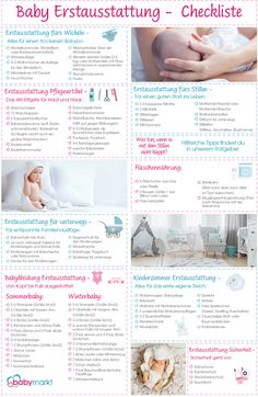 Check out the initial baby equipment checklist - Checkliste Baby-Erstausstattung ansehen – babymarkt.de Check the initial baby equipment checklist – babymarkt. Baby Co, Baby Kids, Baby Equipment, Baby Zimmer, Baby Must Haves, Baby Development, Baby Hacks, Baby Wearing, Kids And Parenting