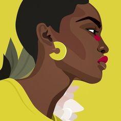 illustration tips ~ illustration tips ` illustration tips tutorials ` illustration tips drawing reference Art And Illustration, Portrait Illustration, Graphic Design Illustration, Watercolor Illustration, Pop Art Posters, Kunst Poster, Black Girl Art, Photocollage, Afro Art