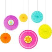 Spring Paper Fan Decorations - Party City