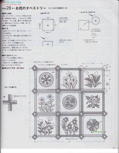 Archivo de álbumes Book Quilt, Quilt Patterns, Applique, Diagram, Bullet Journal, Quilts, Albums, Country, Image