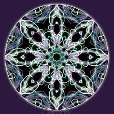 Meditation Art   Clairvoyance Lightworker by SacredCircleMandalas