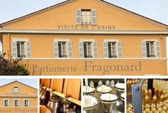 Fragonard Perfume Tours in Grasse, France - the historic perfume factory in the heart of the Old Town is one of the oldest in Grasse, and has housed perfume making from its beginning in 1782.