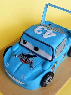 The Cars The King cake by bubolinkata, via Flickr