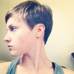 Hair is definitely shorter than ever. #pixiecut by frannie222 http://bit.ly/13QPo5W