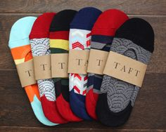 Fun no-show socks for men that actually stay up. Fun way to accessorize