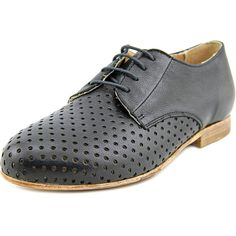 Steven Steve Madden Bertha Women Round Toe Leather Oxford -- Continue to the product at the image link.
