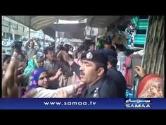 MQM protesters storm ARY News office; SAMAA DSNG attacked   SAMAA TV