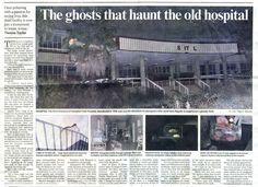 It could be cheaper to rather demolish the structure than to try and renovate it Haunted Asylums, Haunted Places, Abandoned Places, Haunted Houses, Old Hospital, Abandoned Hospital, Kempton Park, Ghost And Ghouls, Jeepers Creepers